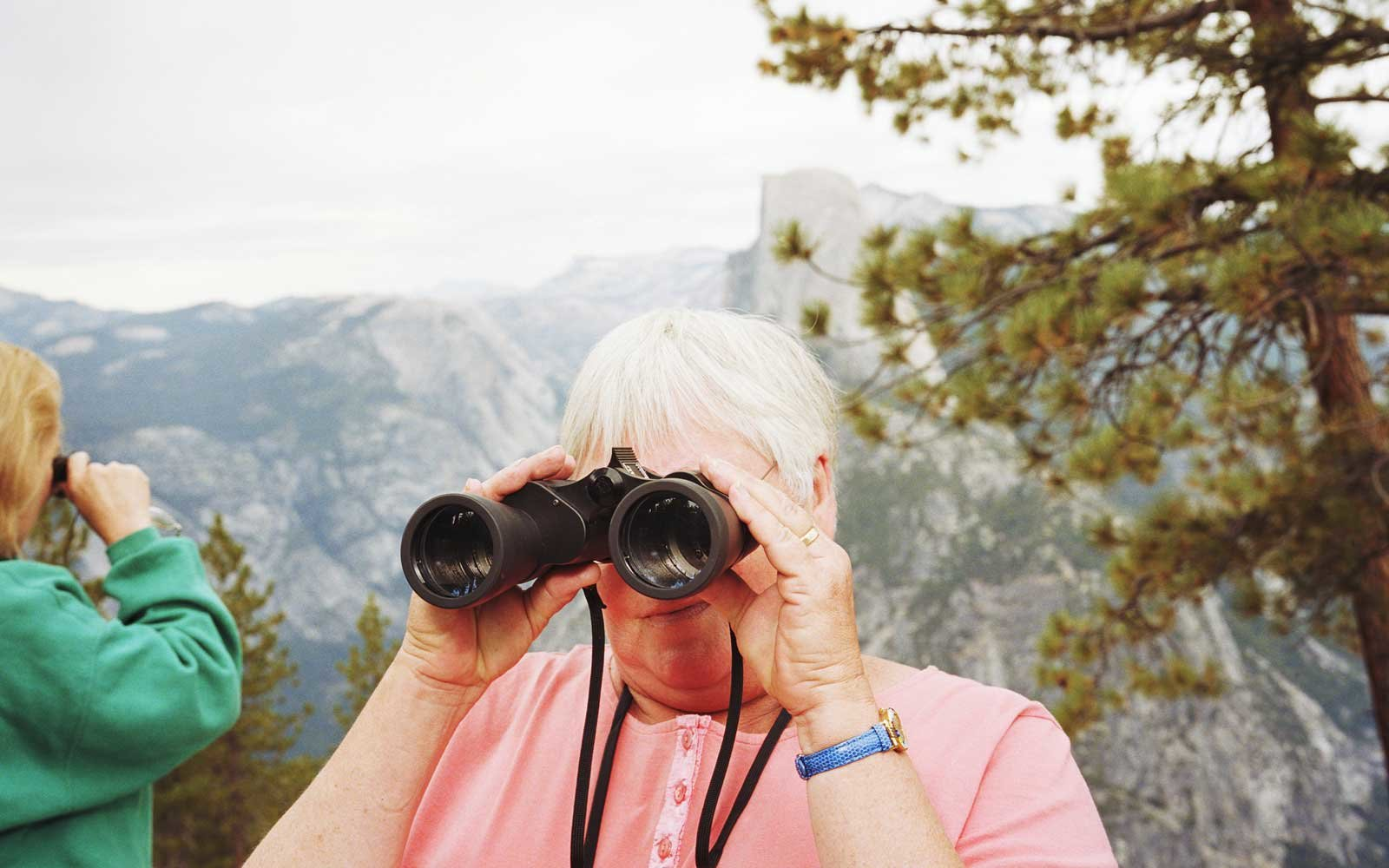 Senior Woman at Yosemite National Park