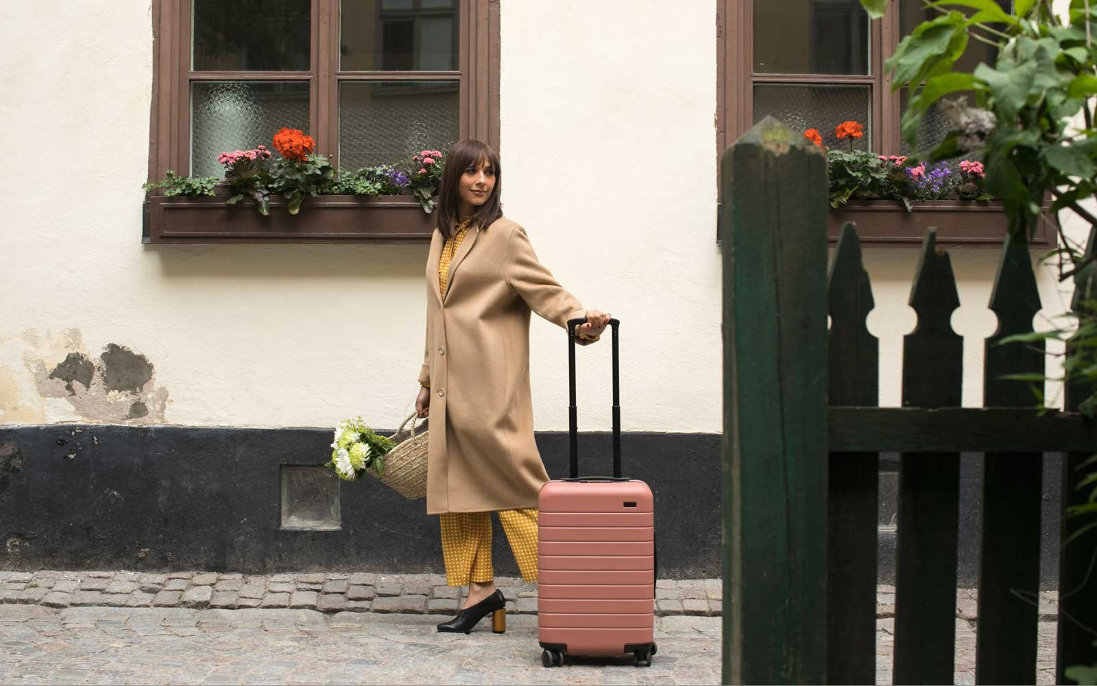 Rashida Jones Collaboration with Away Luggage