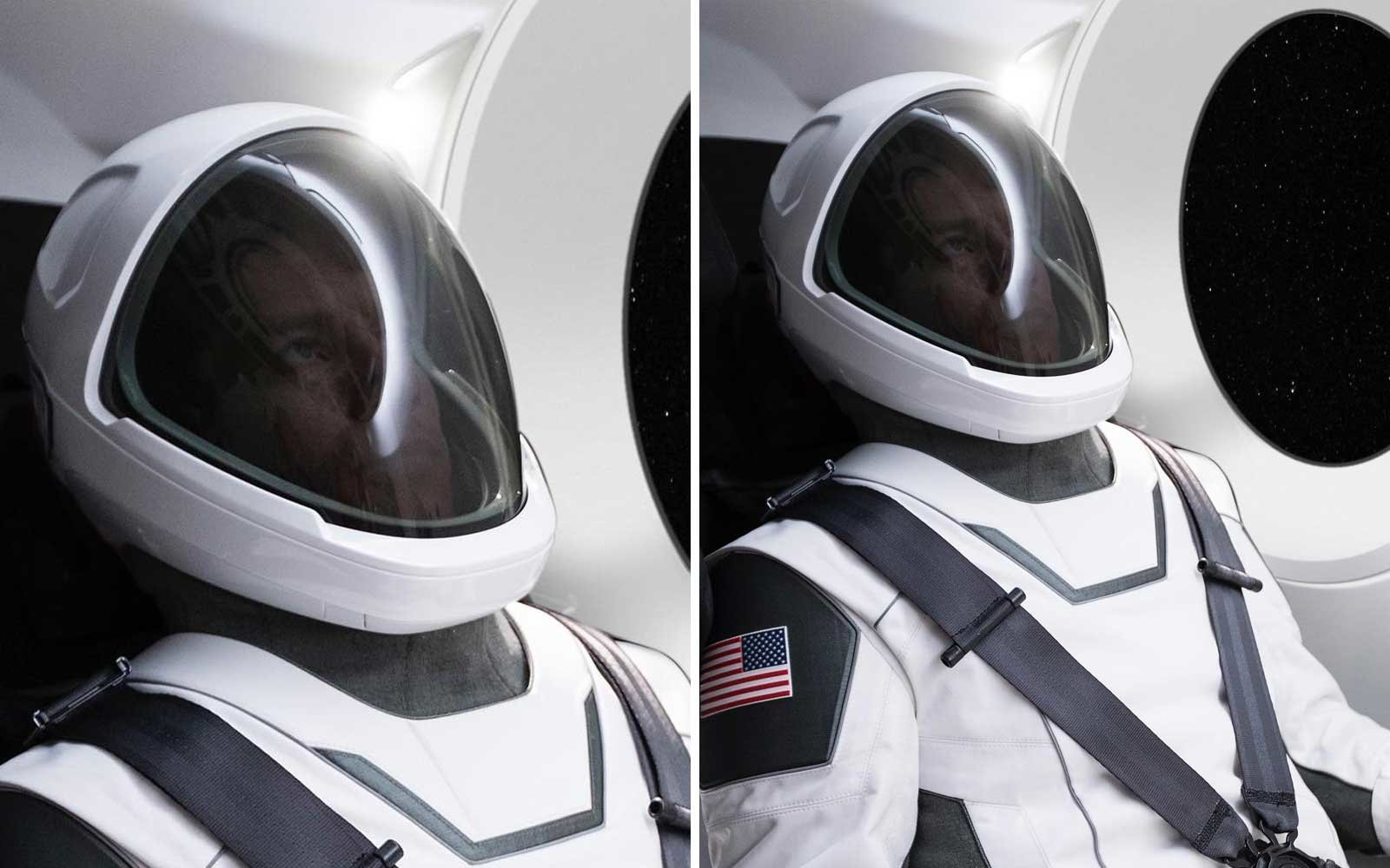 SpaceX Suit Posted by Elon Musk
