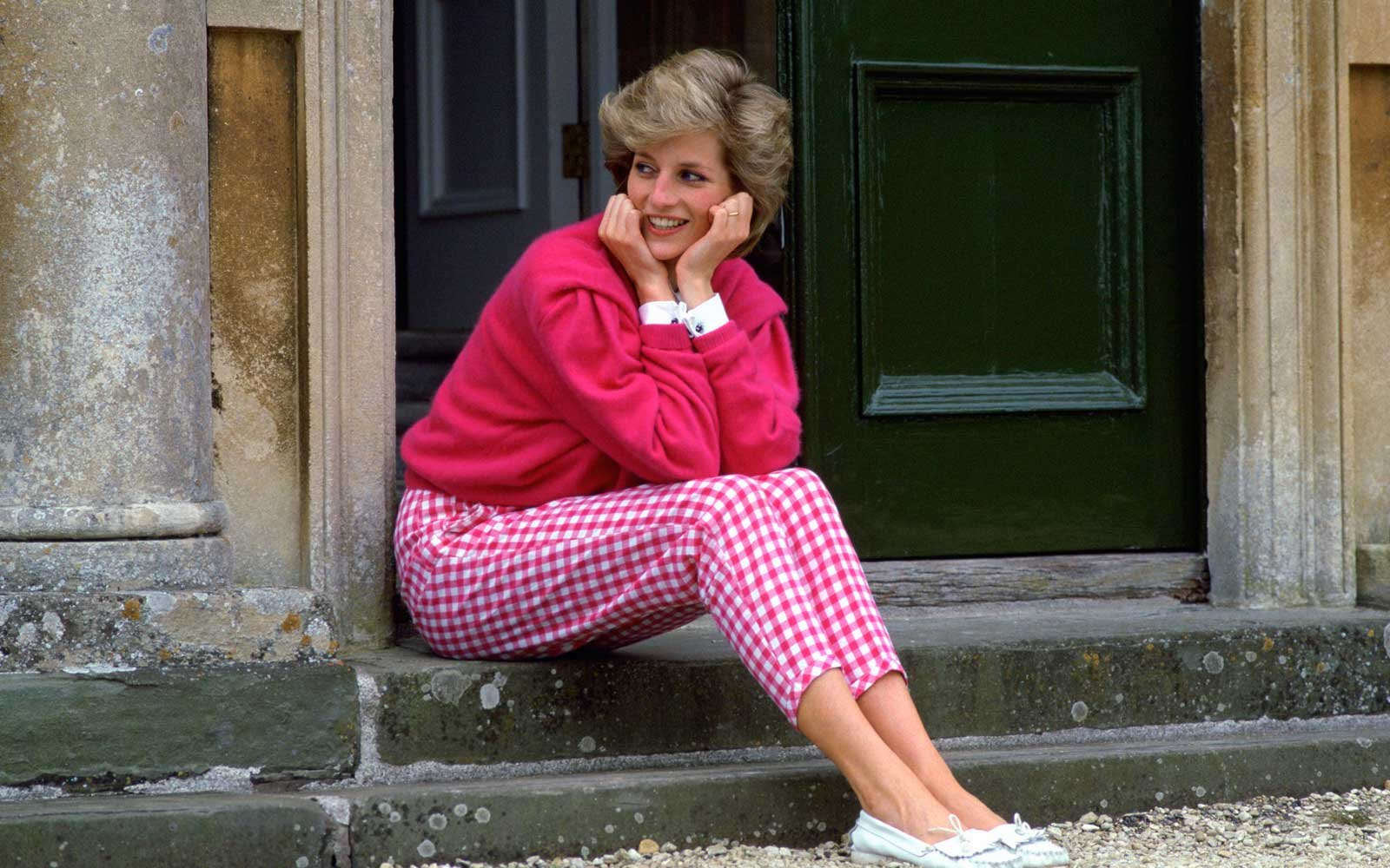 Princess Diana at Highgrove country house