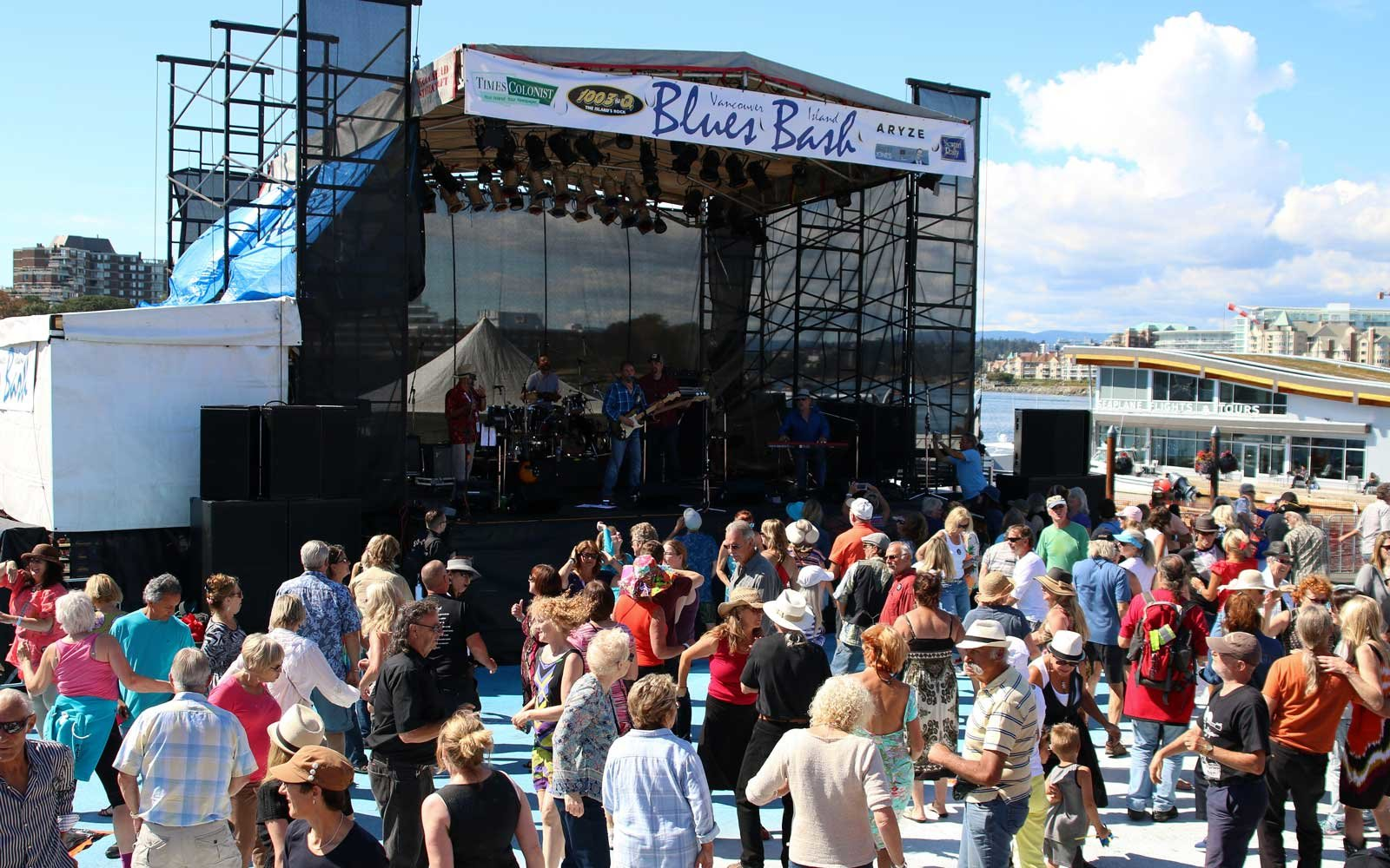 Vancouver Island Blues Bash, Vancouver Island - September 2-4