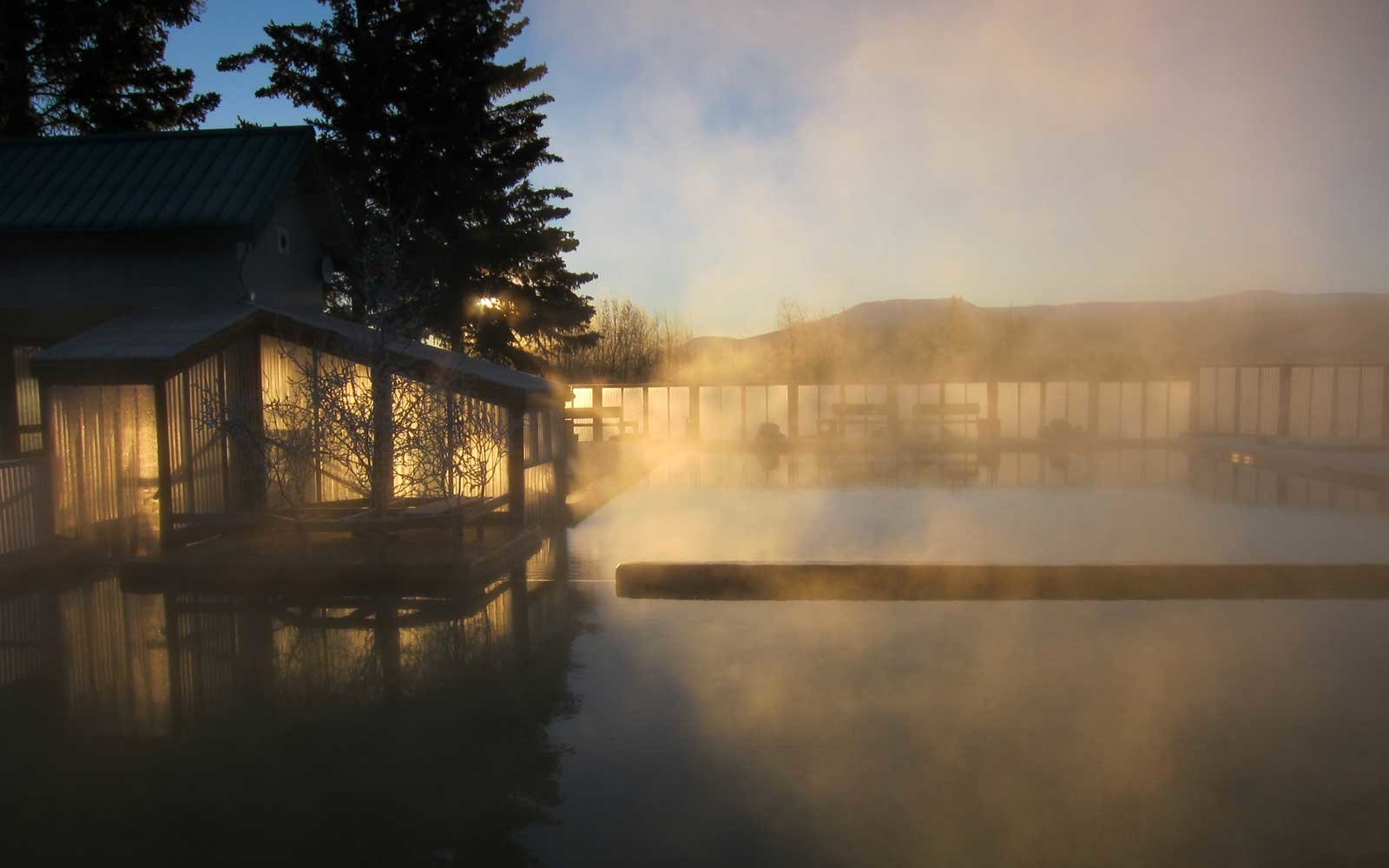Canadian Hot Springs