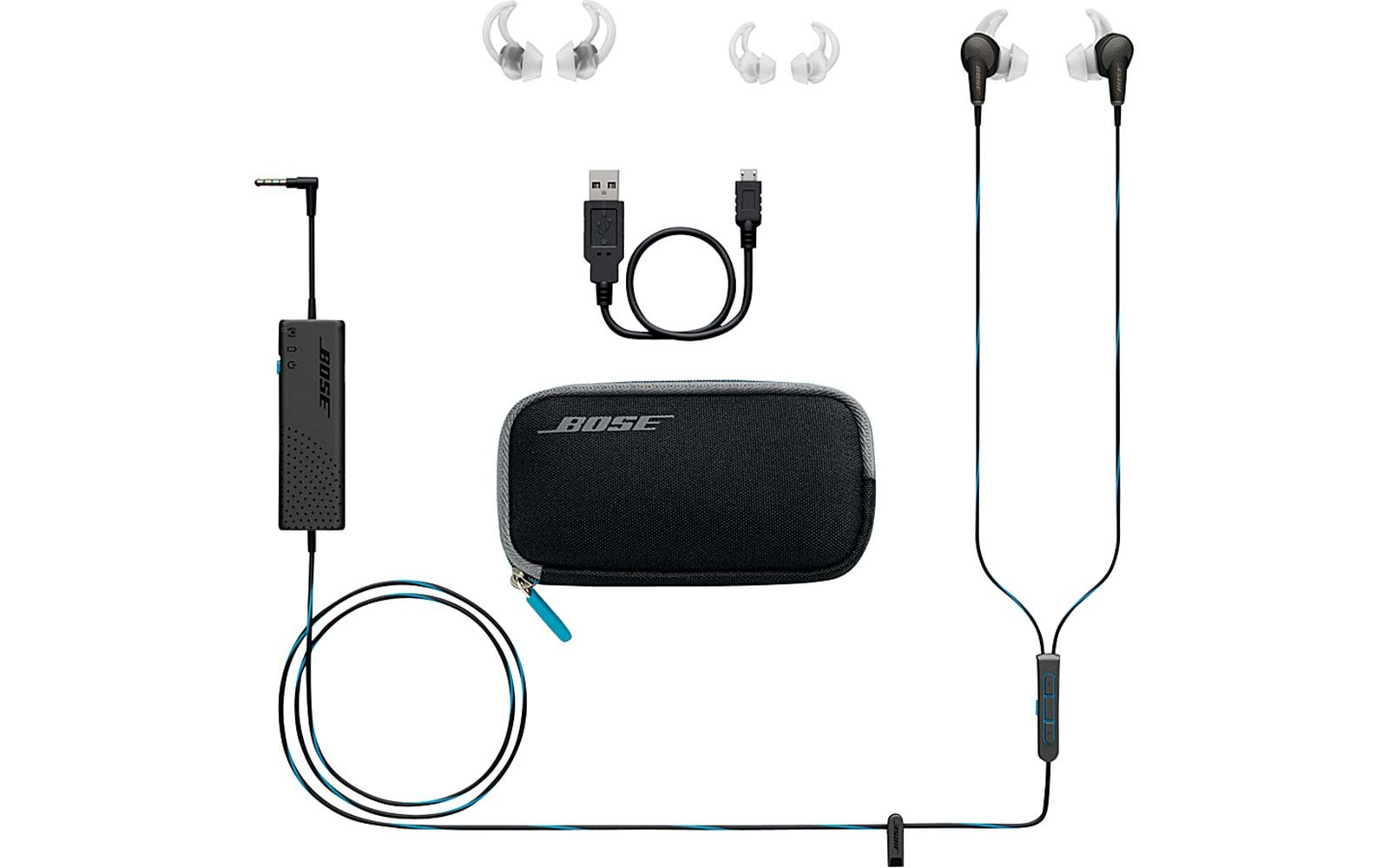 Bose Headphone Kit Travel Packing Essentials