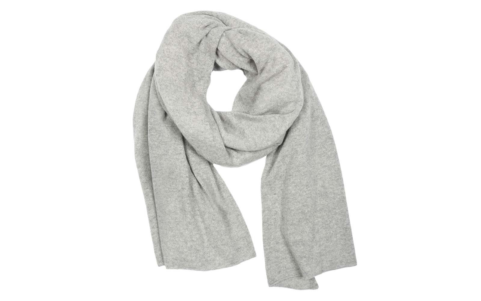 Travel Packing Essentials White and Warren cashmere scarf