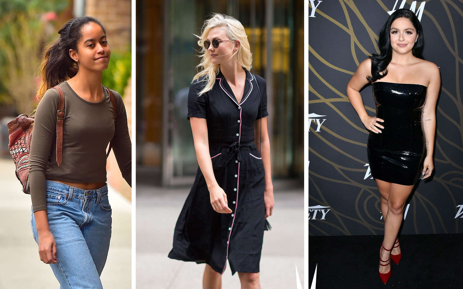 Malia Obama, Karlie Kloss, Ariel Winter