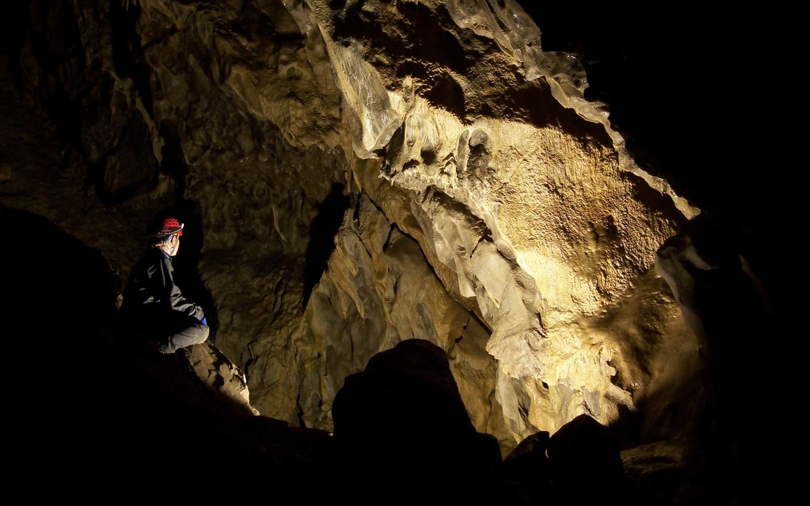 Take a Solo Tour into a Cave in Canada