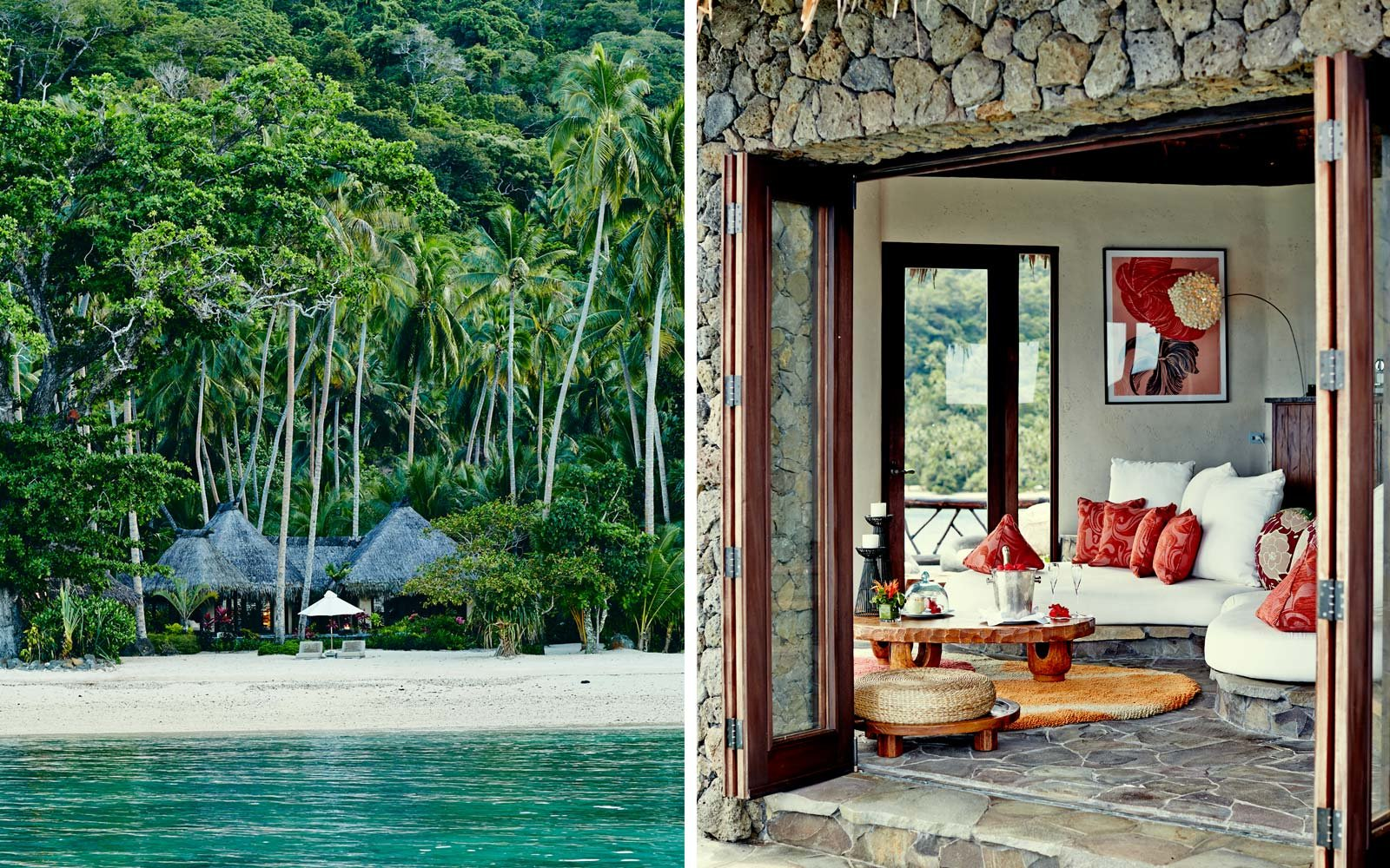 The Hilltop Villa at Laucala Island Resort in Fiji