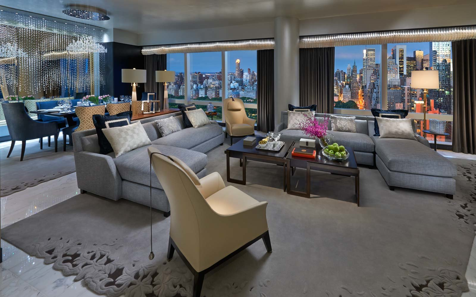 Suite 5000 at the Mandarin Oriental