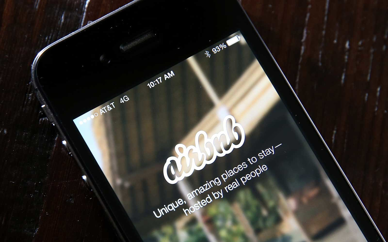 Airbnb app, reviews