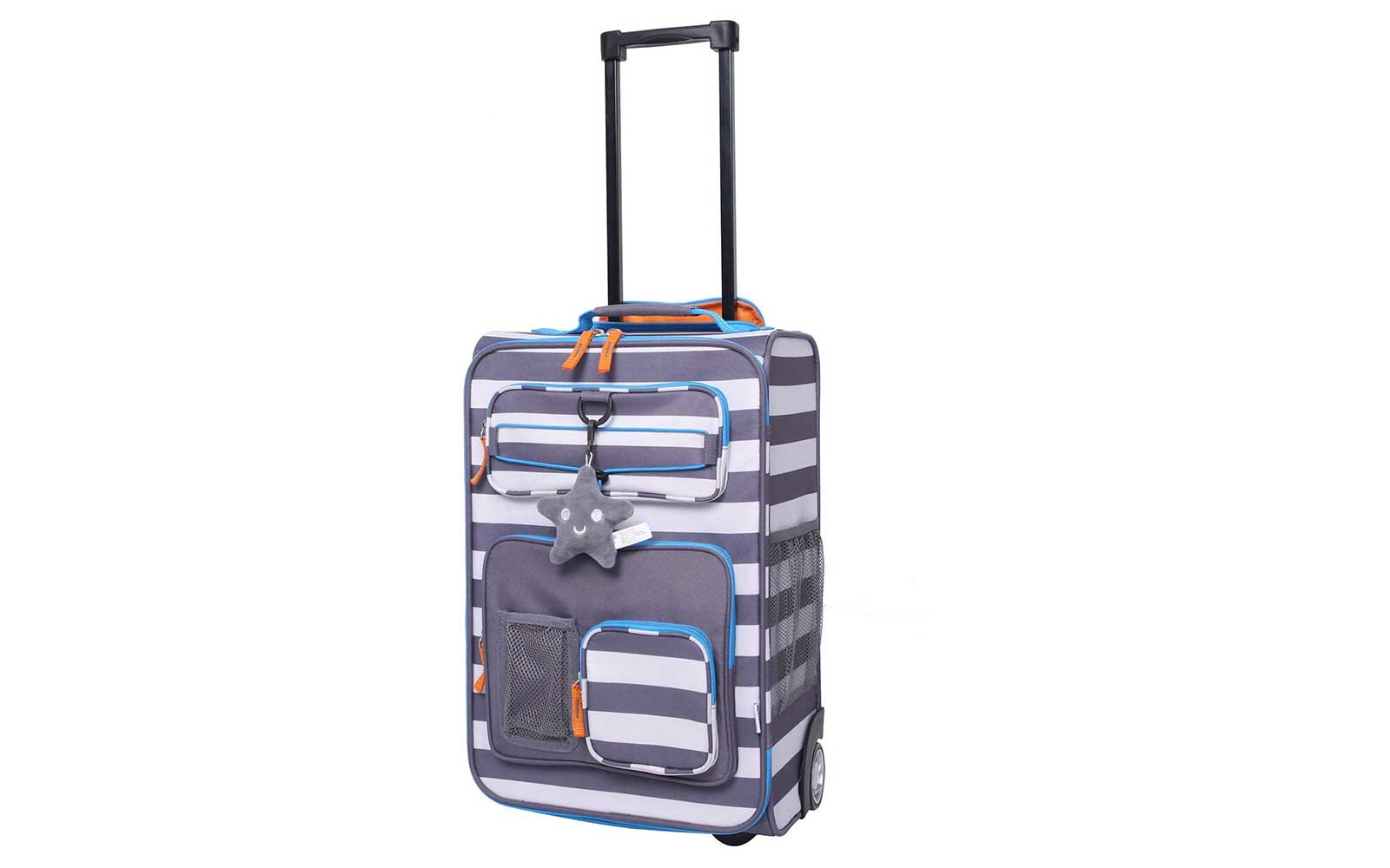 Striped Suitcases for Kids