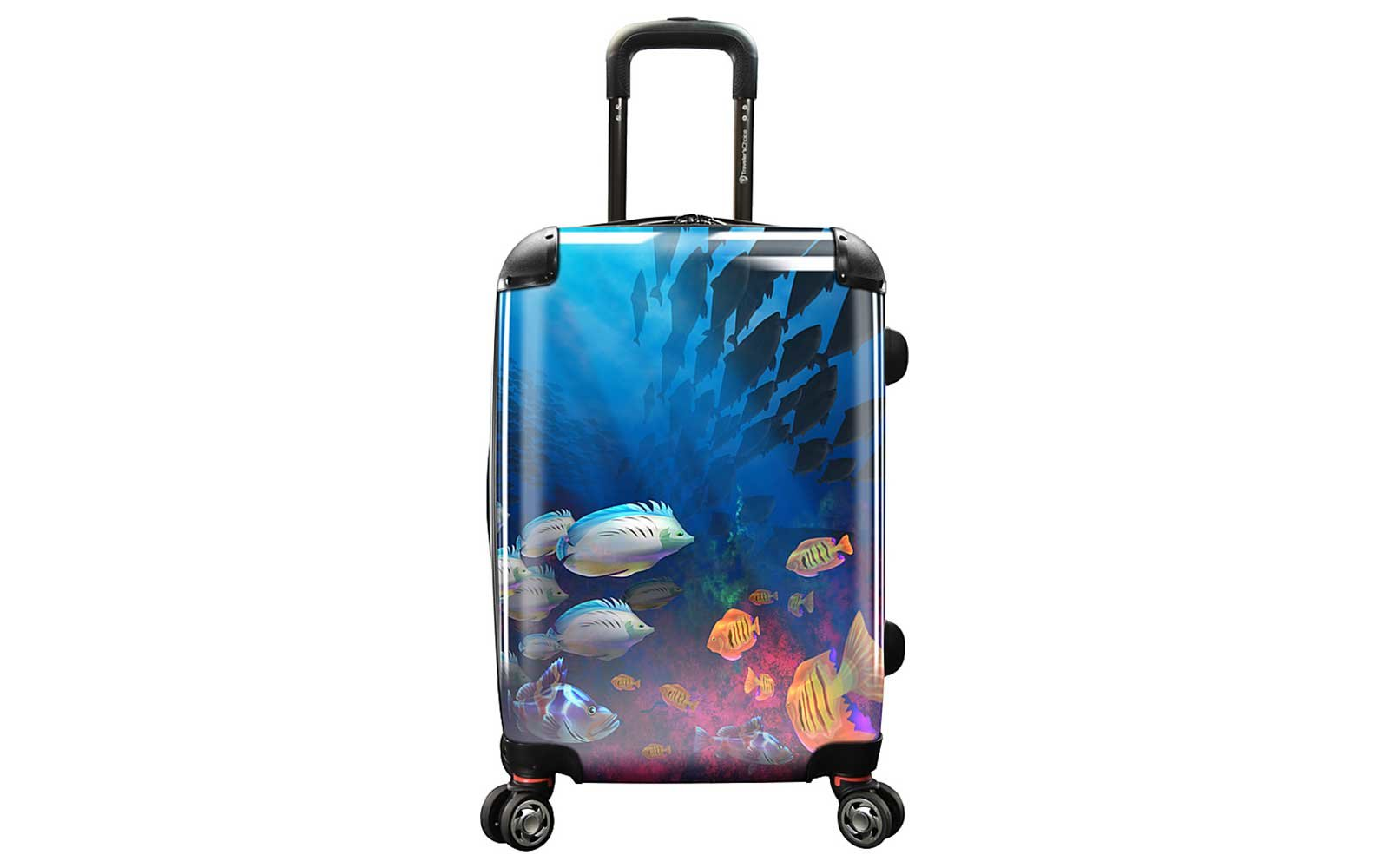Ocean Life Print Suitcase for Kids