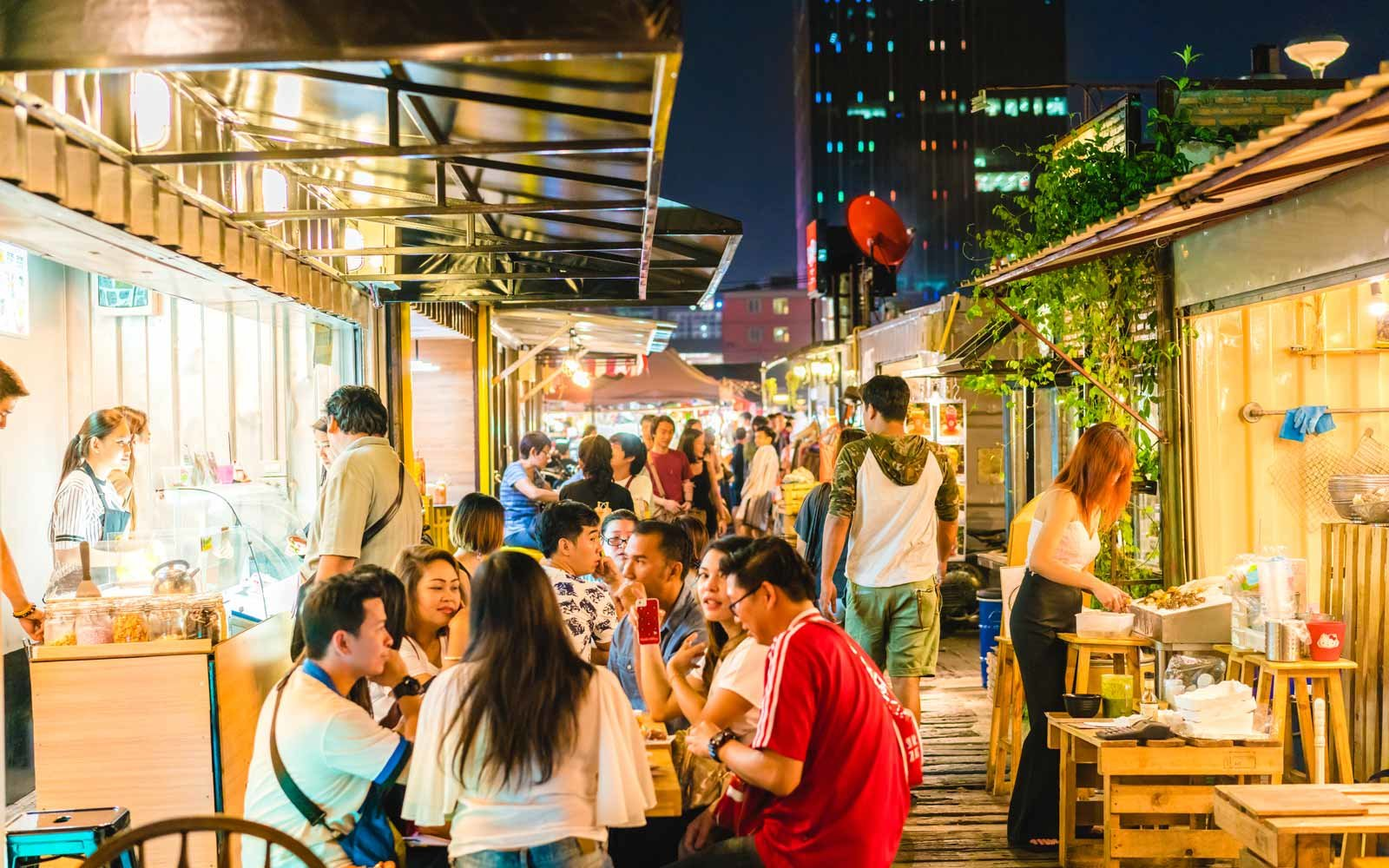 Night Market, Bangkok, Thailand