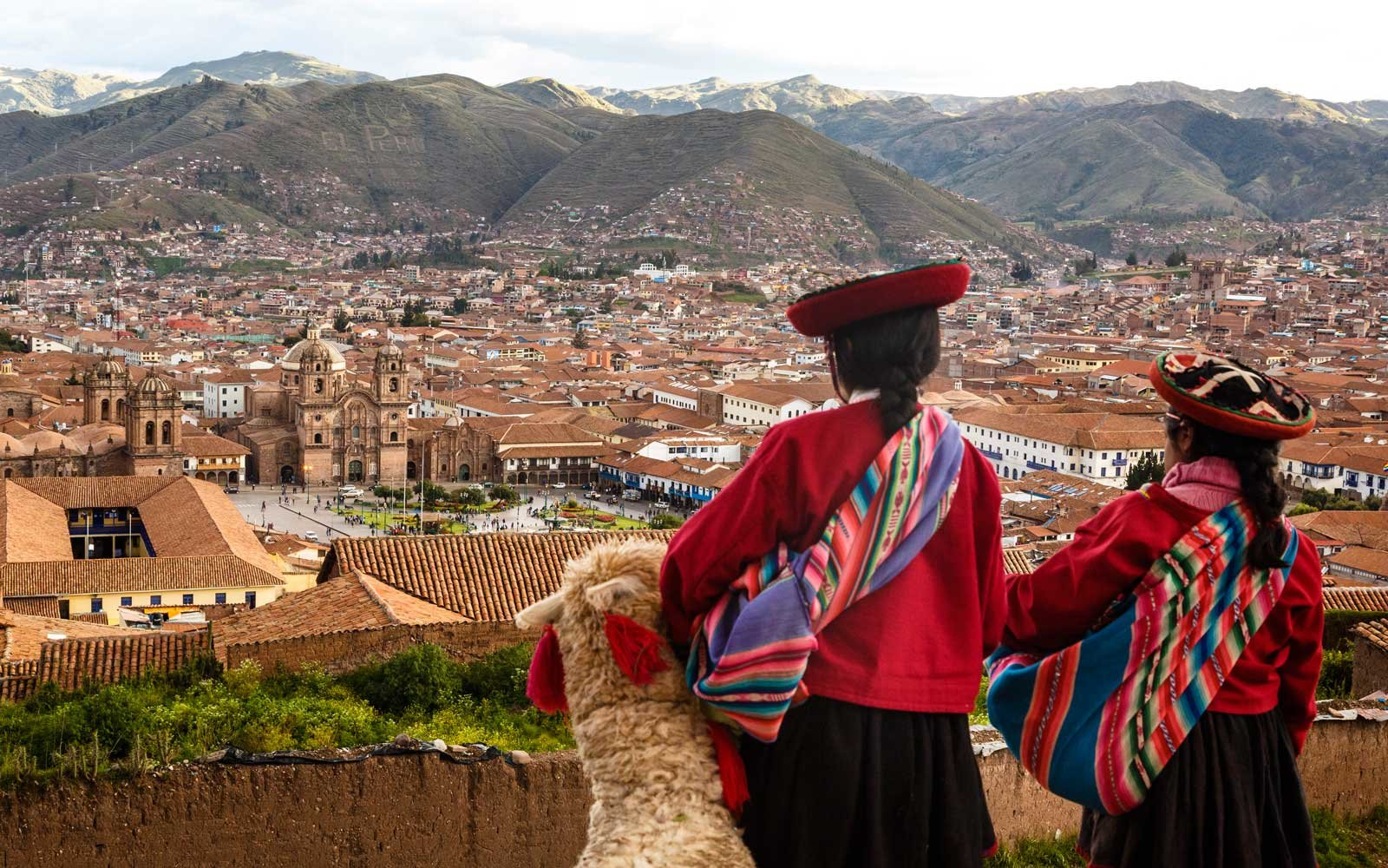 View to Plaza de Armas, Cuzco, Peru