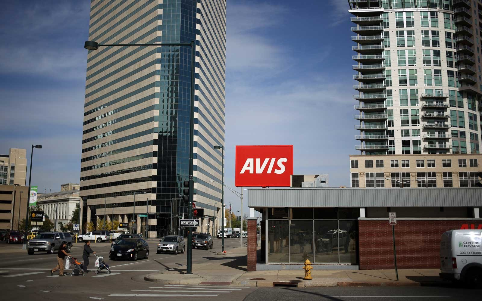 Avis Rental Car in Denver Colorado