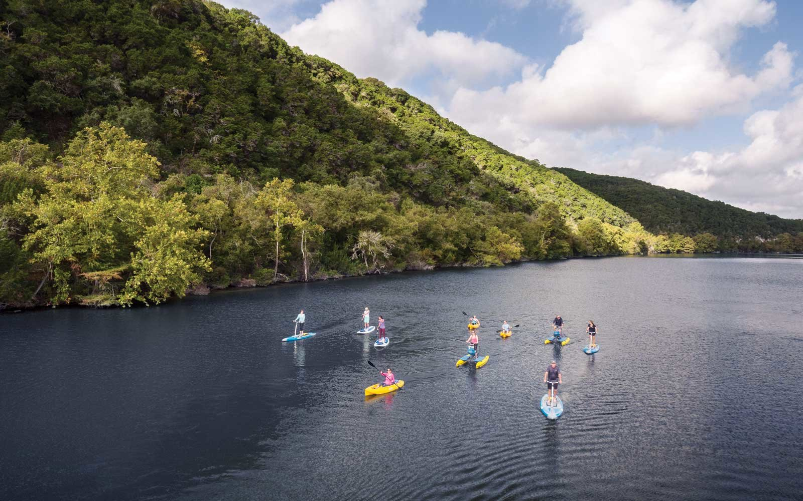 Lake Austin Spa Resort Paddleboarding