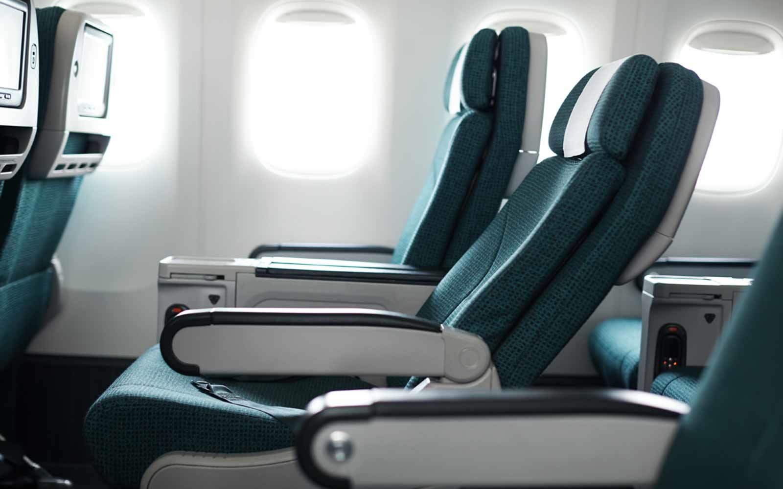 Cathay Pacific Plane Interior