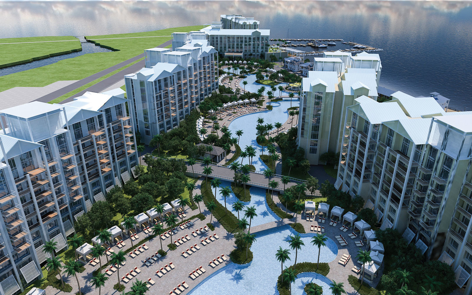 This Airline S Massive New Resort Will Feature North