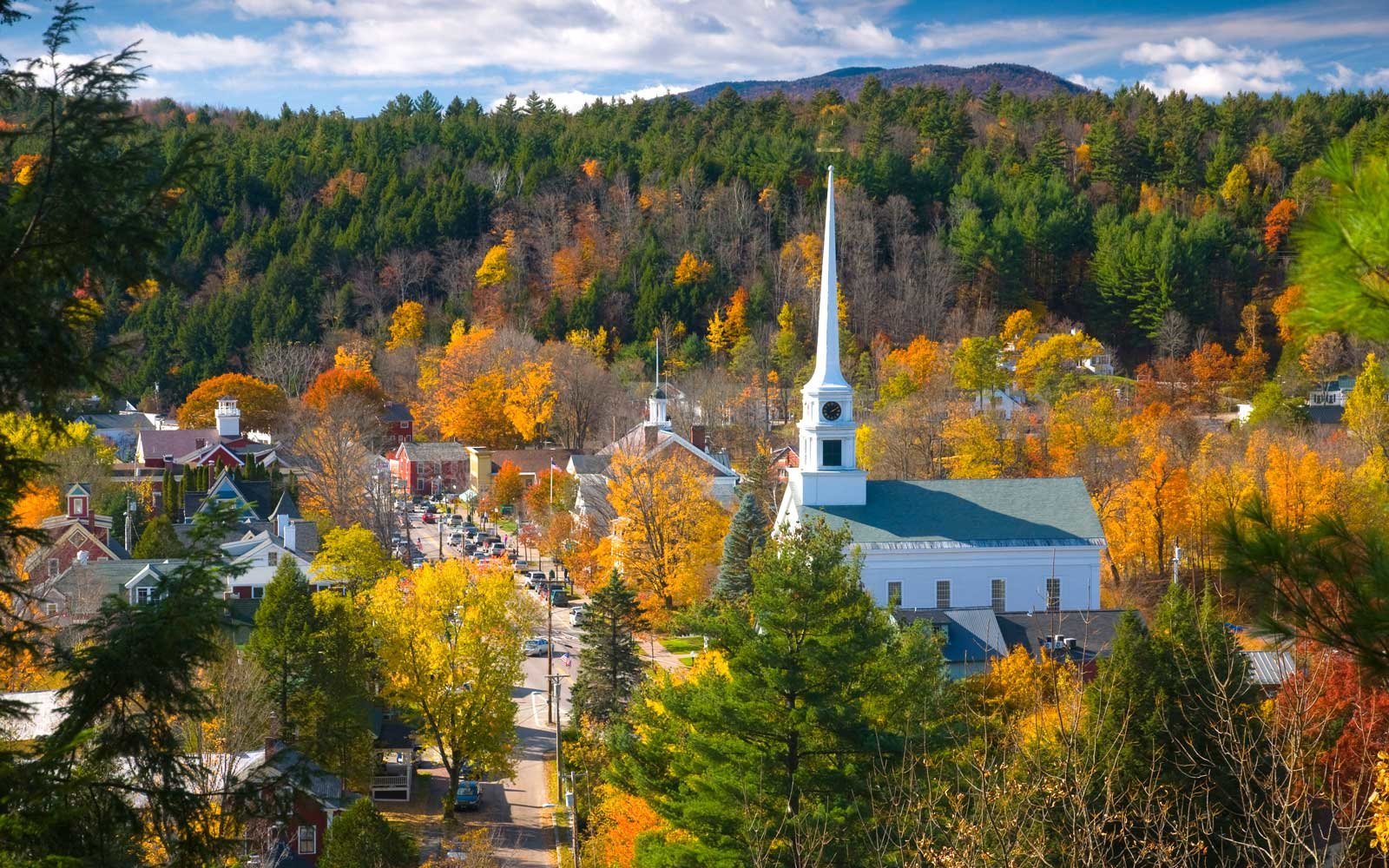 Fall in Stowe, Vermont