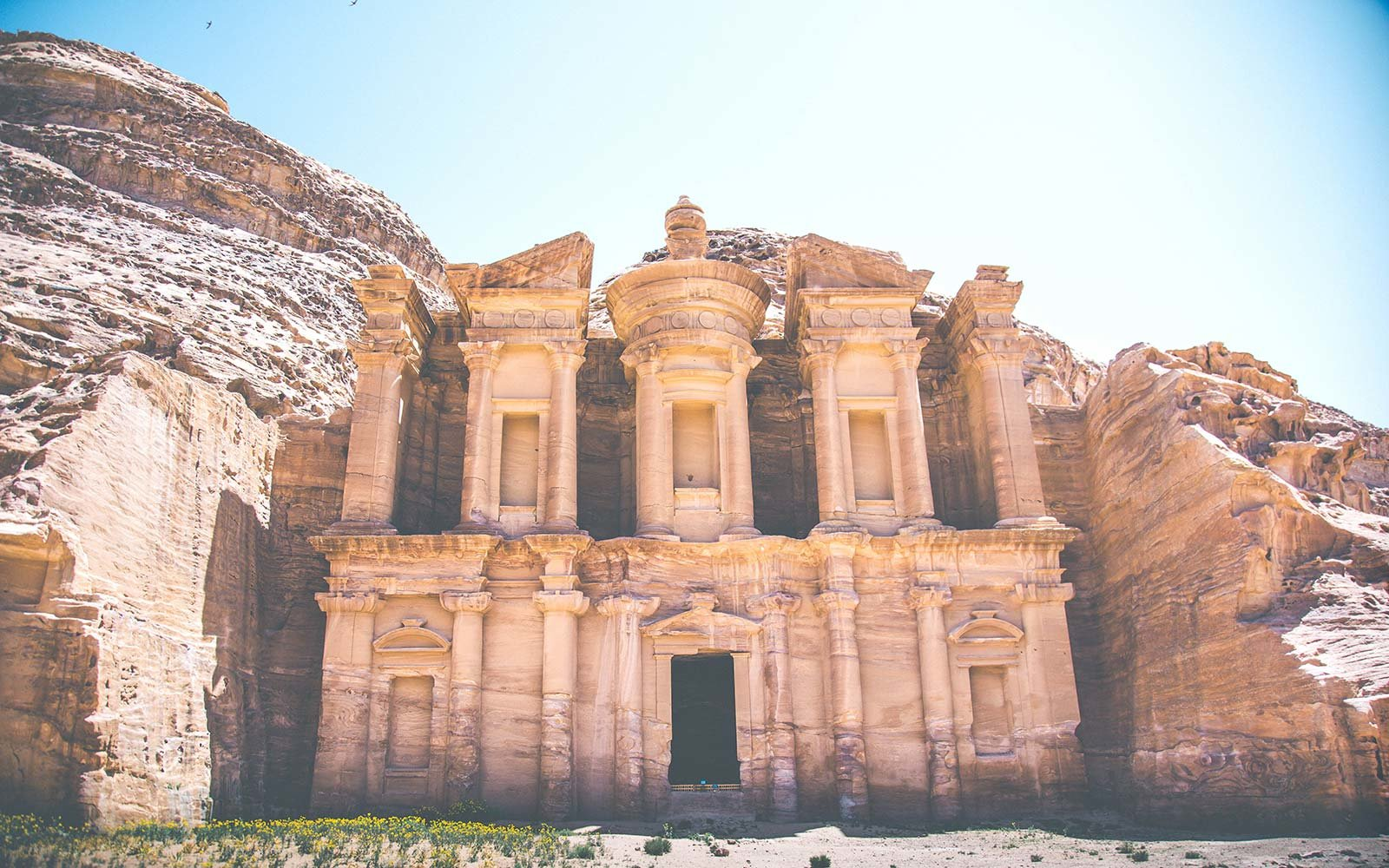 From Dana to Petra, 6 Days on The New Jordan Trail ancient palace