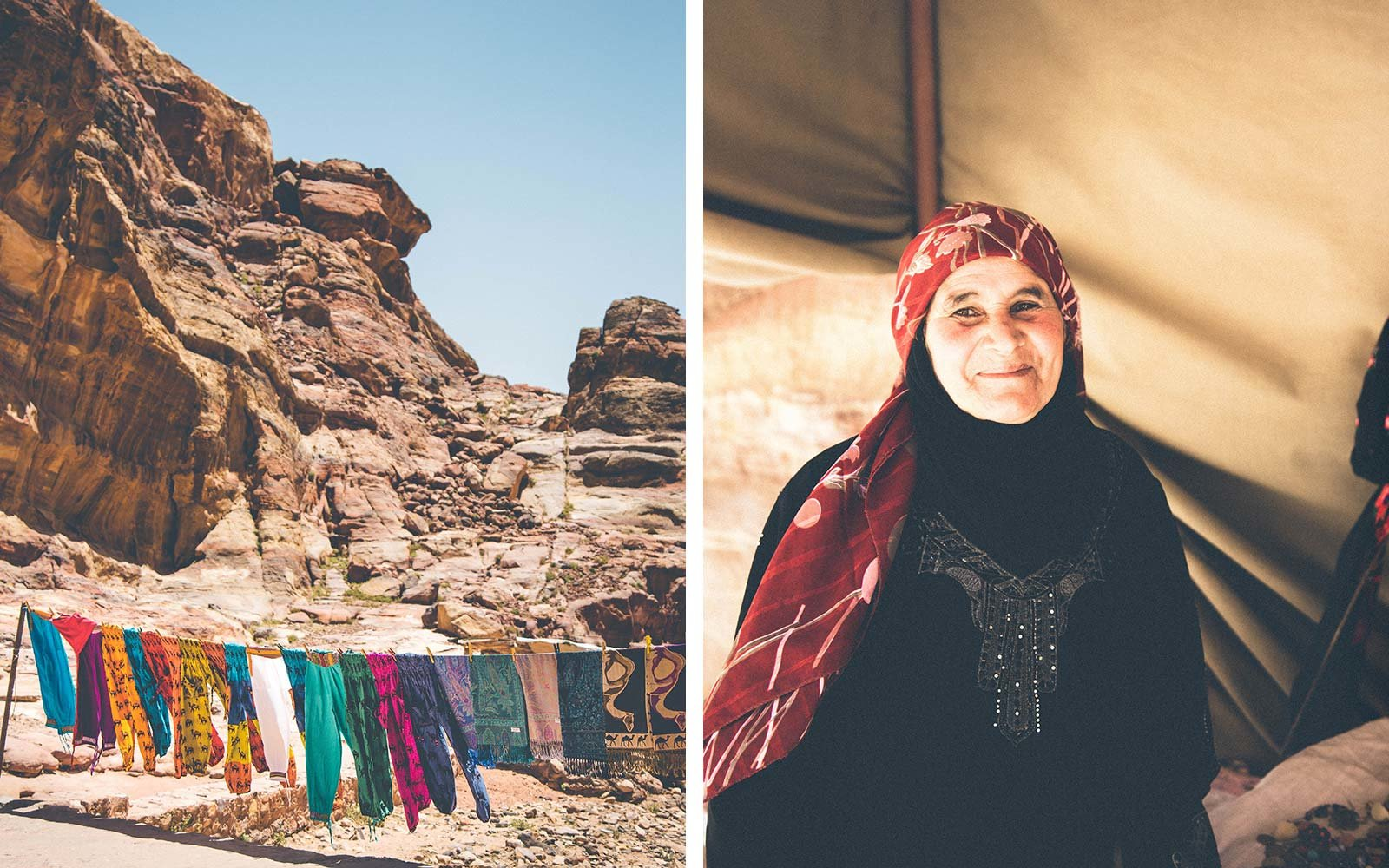 From Dana to Petra, 6 Days on The New Jordan Trail textiles fabric