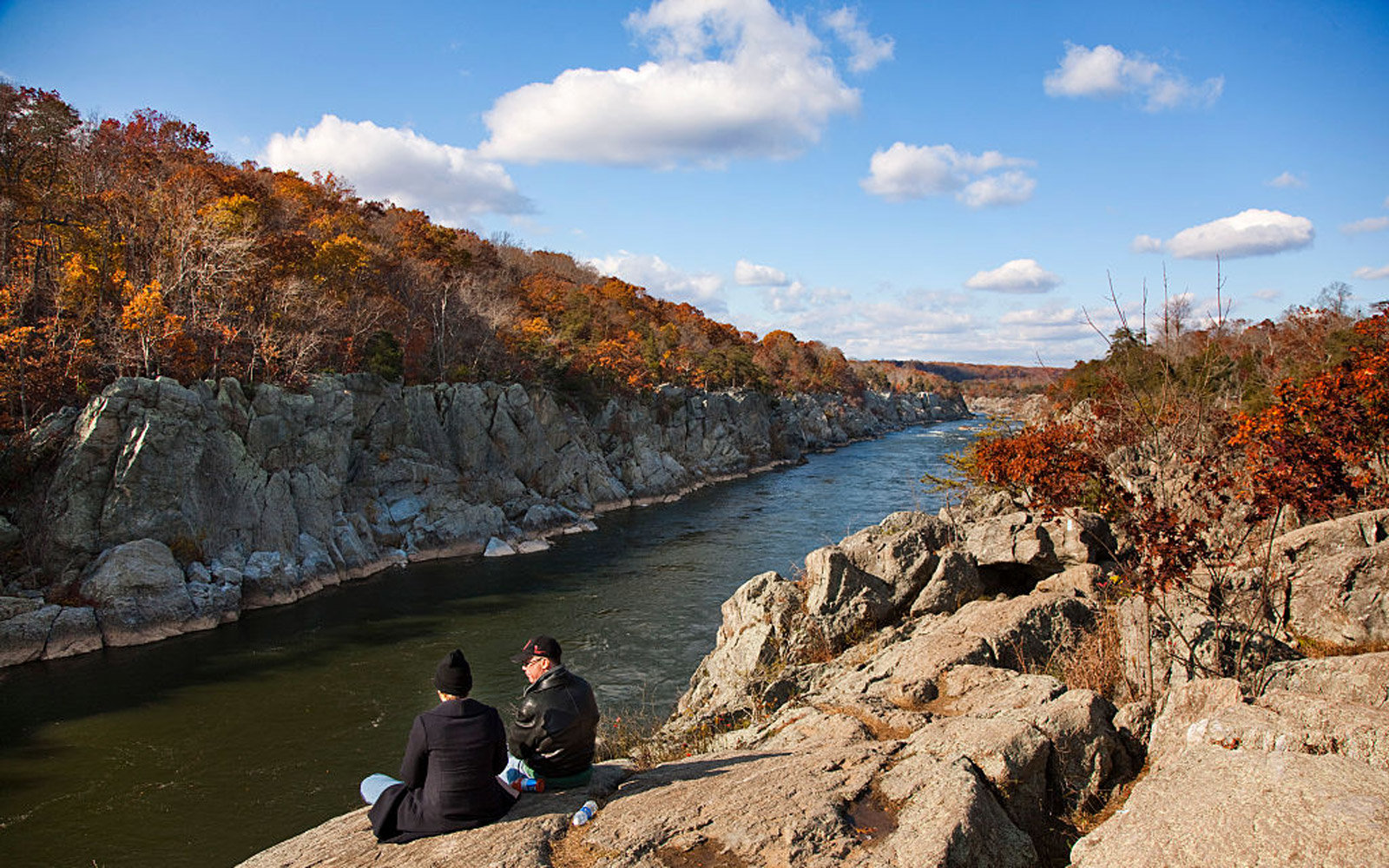 The Billy Goat Trail is a 4.7-mile (7.6 km) hiking trail that follows a path between the C&O Canal and the Potomac River within the Chesapeake and Ohio Canal National Historical Park near Great Falls in Montgomery County, Maryland. Three trails traverse r