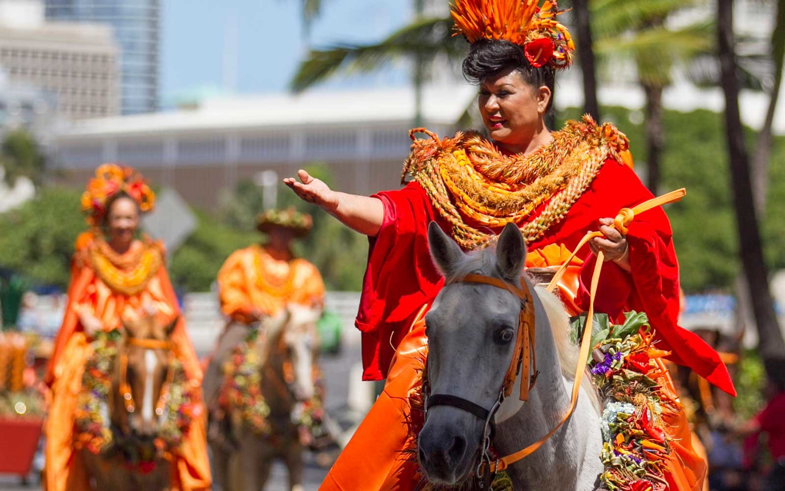 Floral Parade in Hawaii