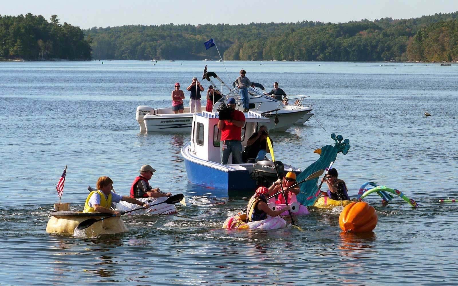 Maine Pumpking Festival and Regatta