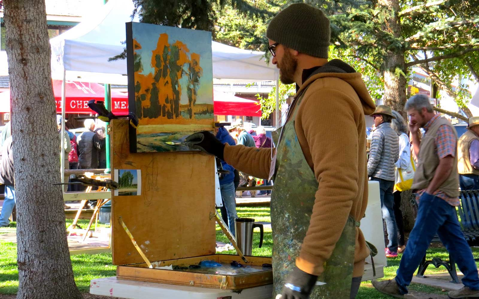 Arts Festival in Jackson Holy Wyoming
