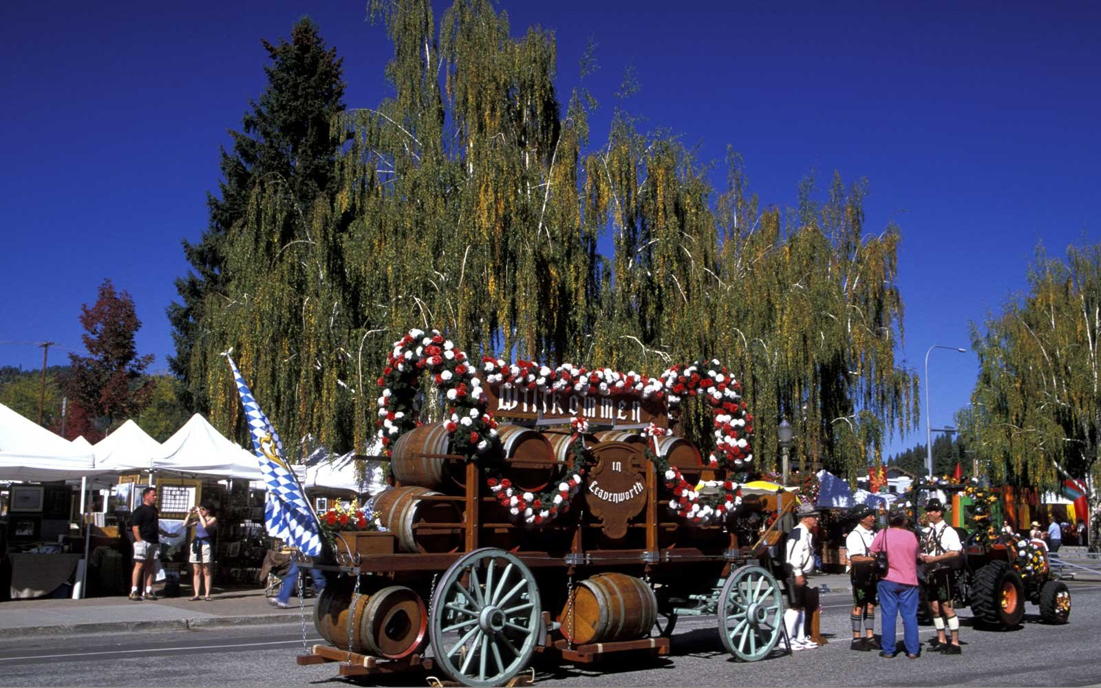 Autumn Leaf Festival in Leavenworth