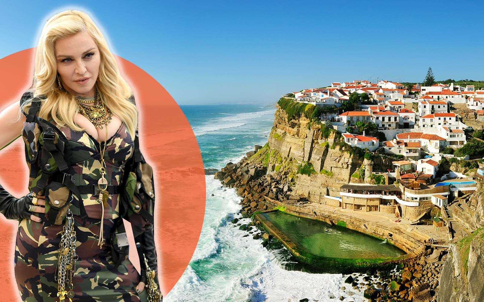 Feeding pigs and fretting over FedEx — Madonna in Portugal