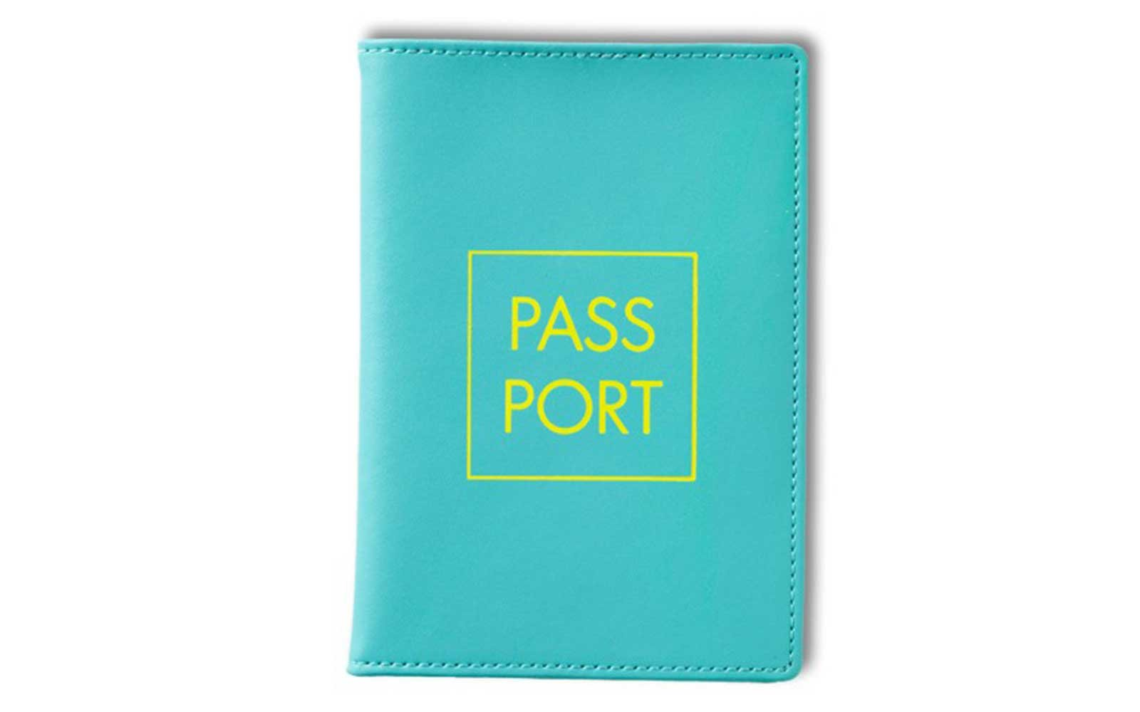 Teal Passport Cover