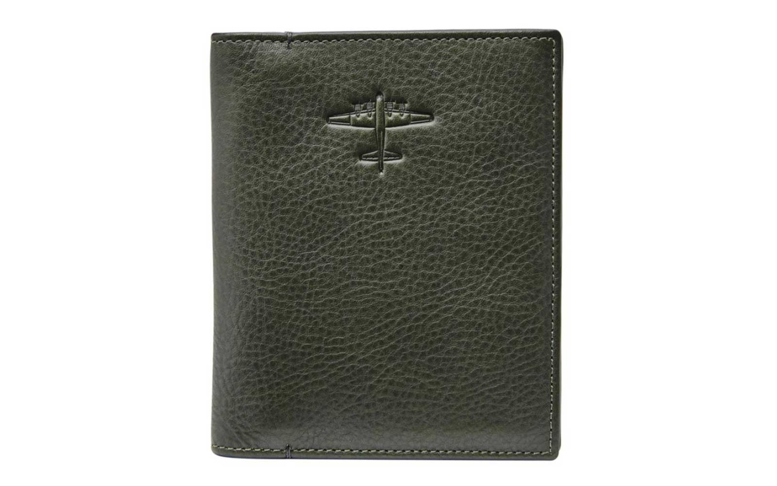 Fossil Leather Passport Cover