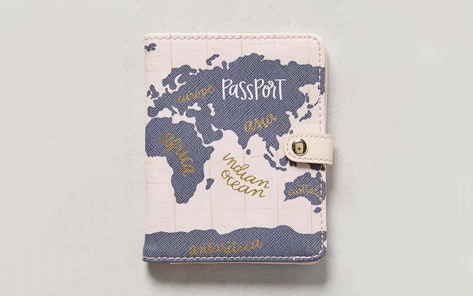 11 cute passport covers for clearing customs in style travel world map passport cover gumiabroncs Choice Image