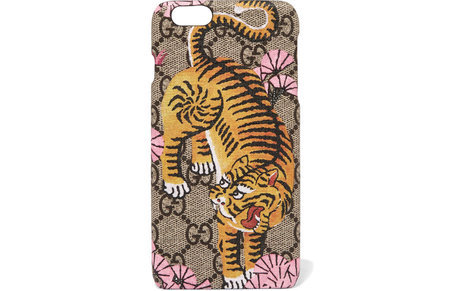 Printed coated canvas iPhone 6 Plus case