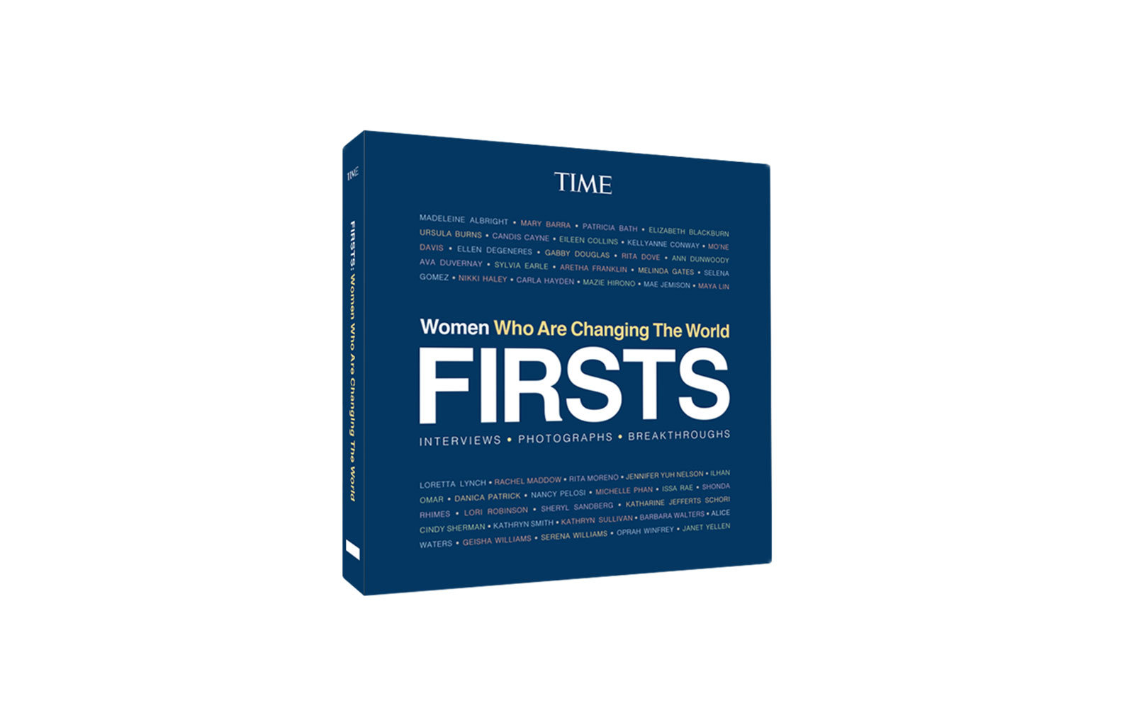 time firsts book