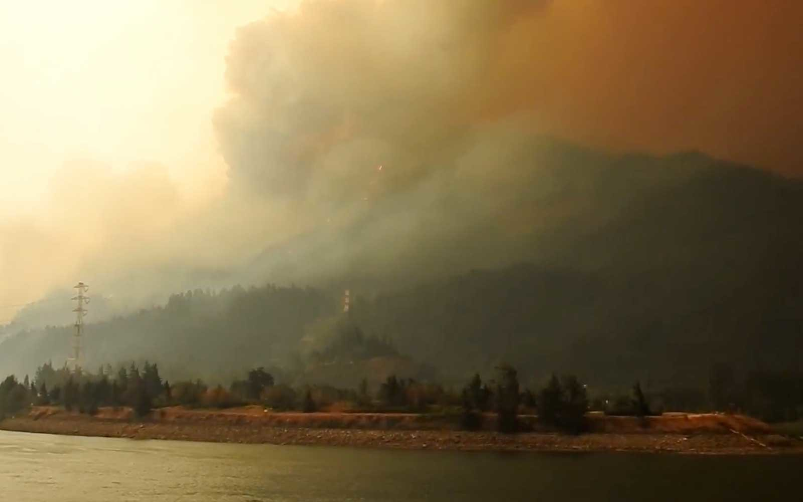 Portland Oregon Wildfire
