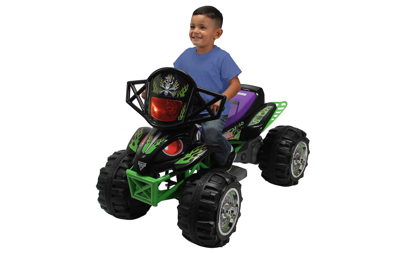 Monster Jam Grave Digger Four-Wheeler