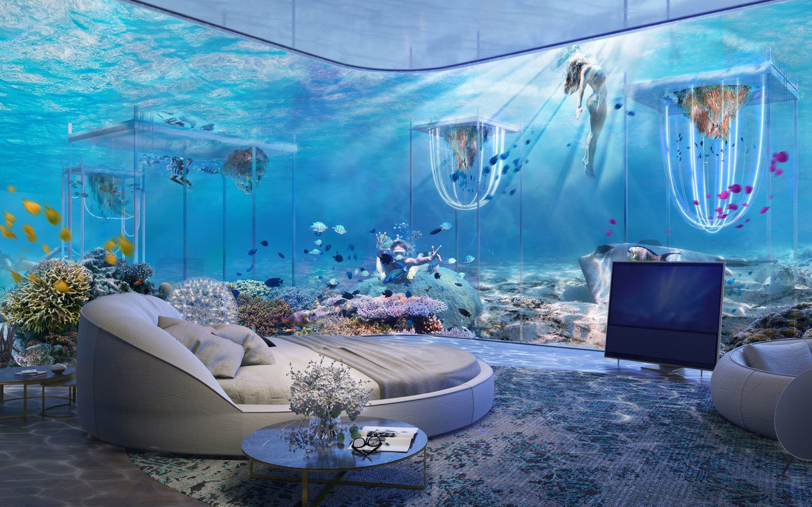 Dubai S Crazy New Floating Underwater Resort Is Inspired By Venice