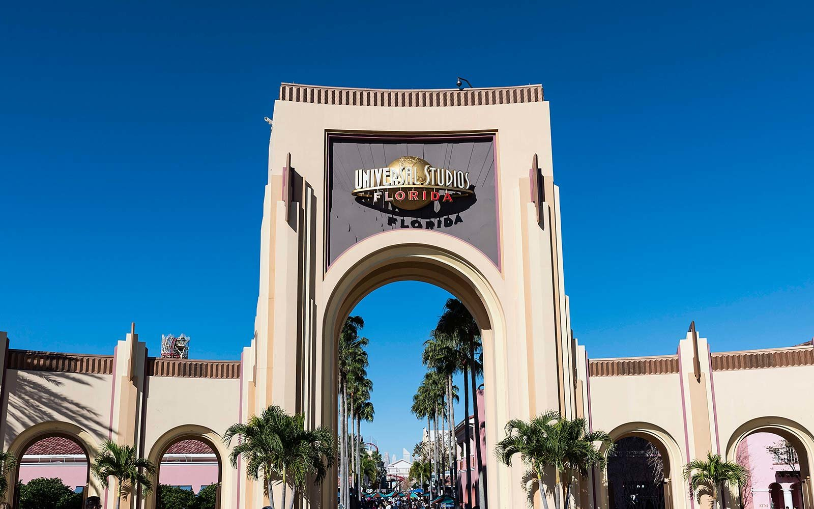 Universal Studios theme park resort Orlando Florida Open After Hurricane Irma
