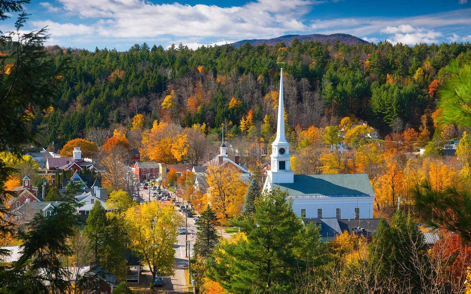 Happiest States in the United States America Vermont