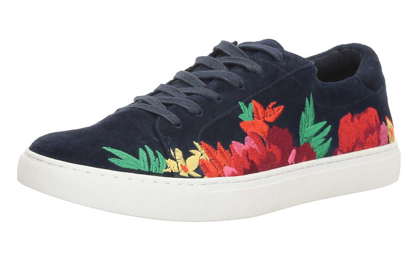 Floral Sneakers for Fall