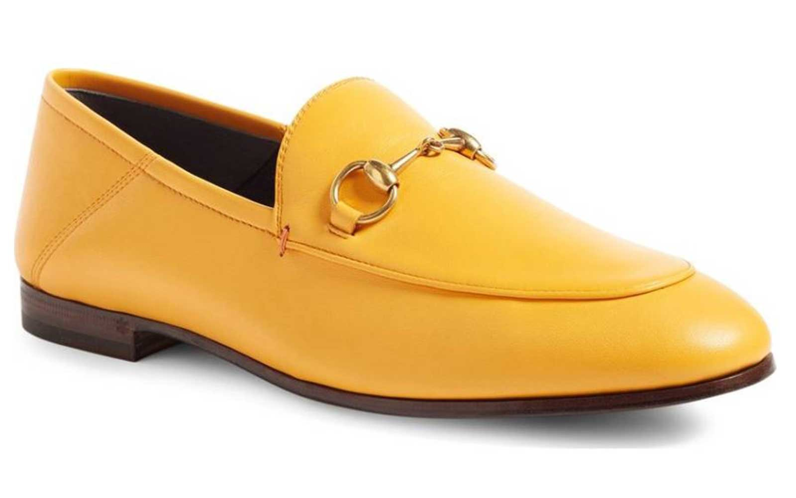 Yellow Slipper Loafers for Fall