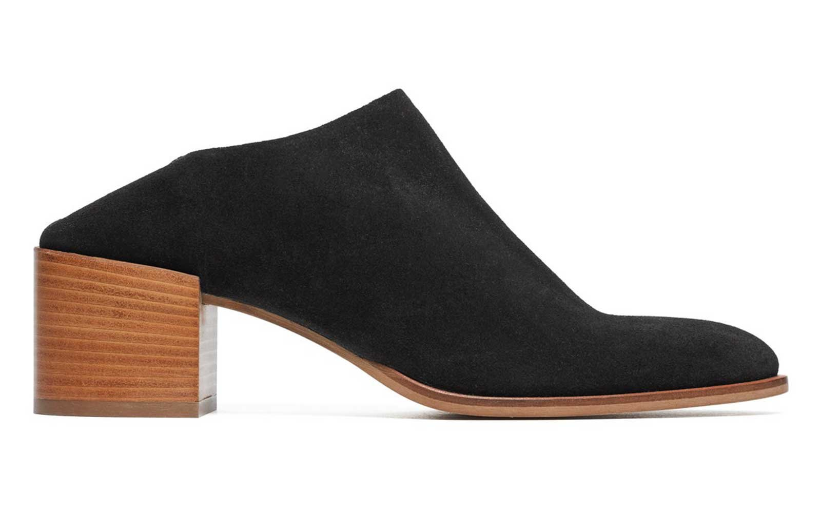 Cheap Suede Mules