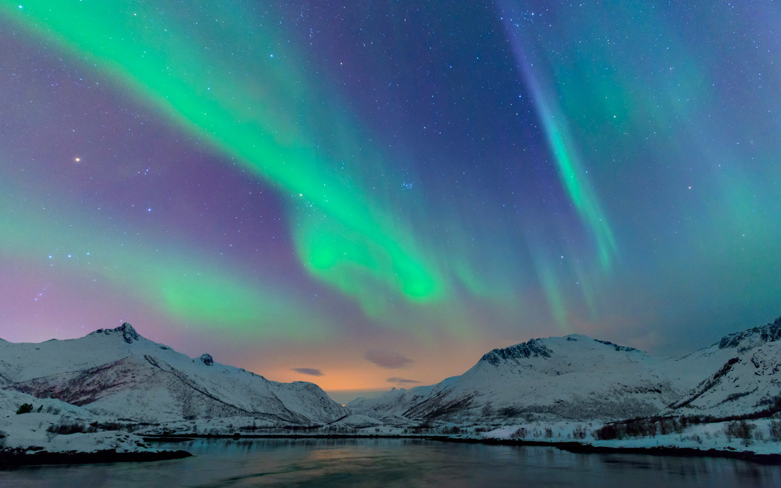 Northern Lights, Arctic Circle