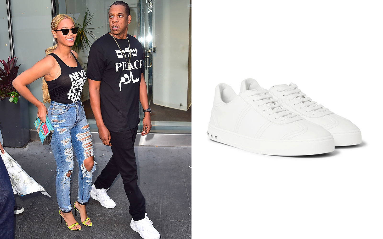 finest selection 2c9b9 8b63a 14 Sneakers Celebrities Love to Wear on the Go   Travel + Leisure