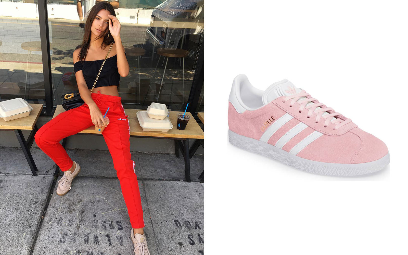 b9e7278d18ed 14 Sneakers Celebrities Love to Wear on the Go