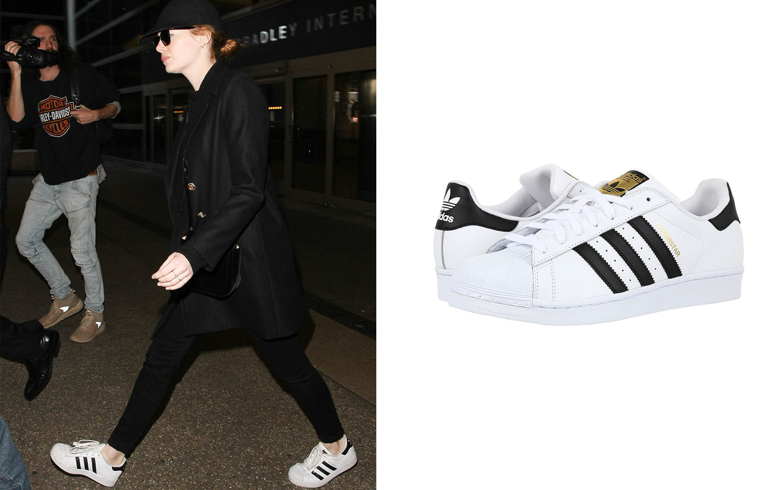 cheap for discount 86a5b f941d Emma Stone wearing Adidas