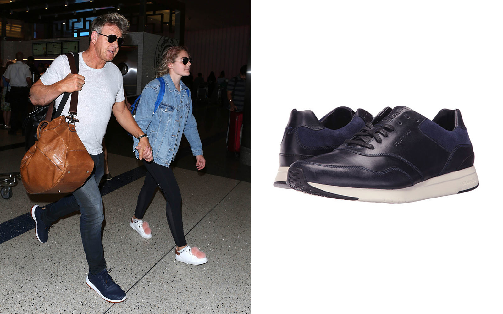 the Go on Wear Leisure Celebrities Travel to 14 Love Sneakers xq4YFF