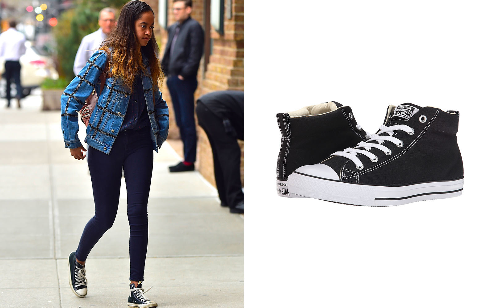 Outfits With Black Converse Shoes