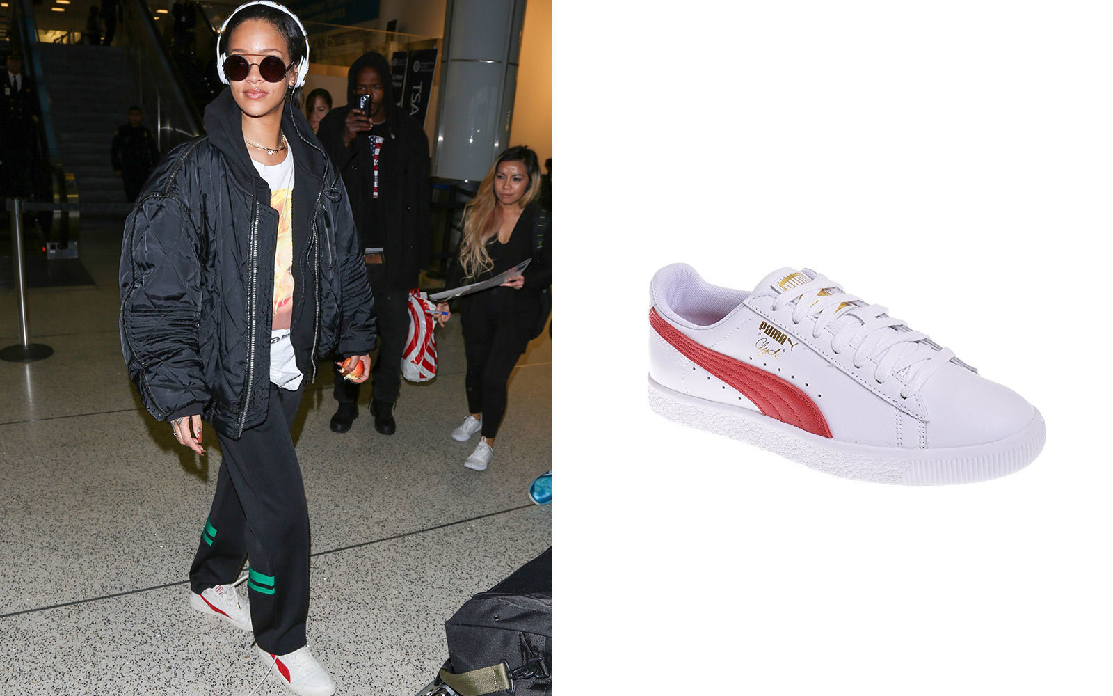 uk availability bdc8c dfe39 14 Sneakers Celebrities Love to Wear on the Go  Travel + Lei